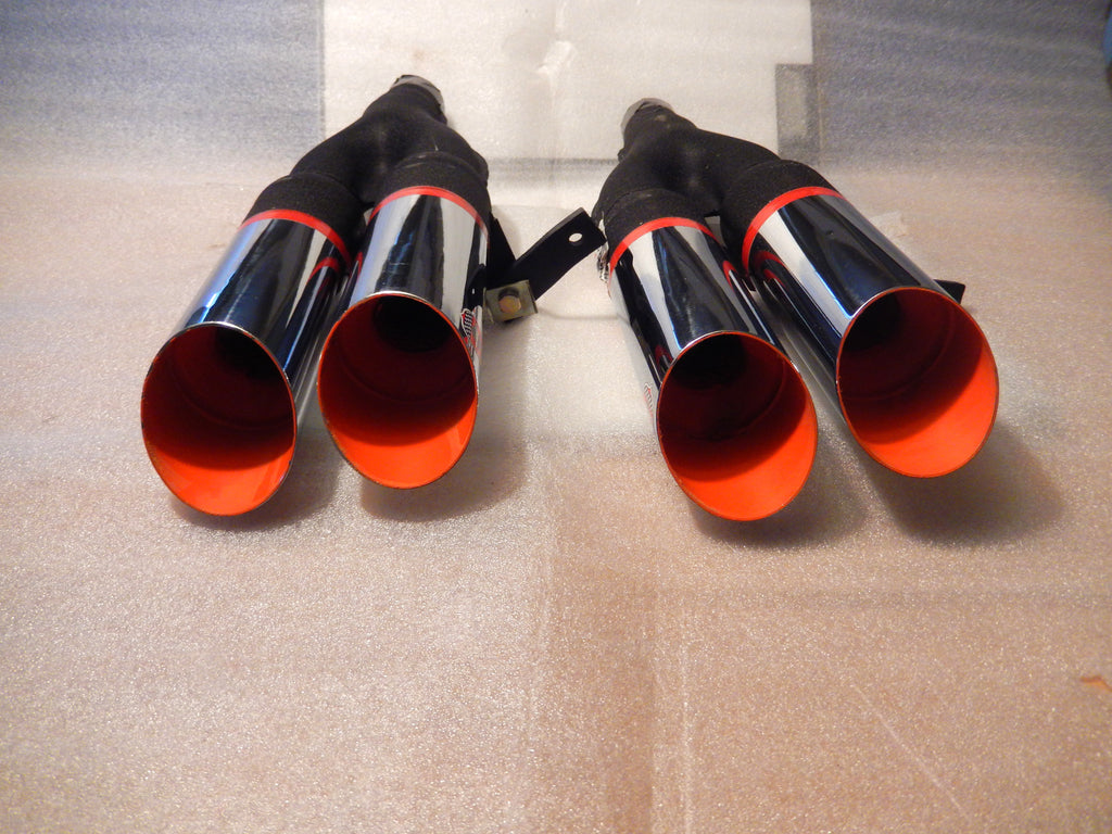 ANSA NOS Pair of Twin Slant Cut Exhaust Tips