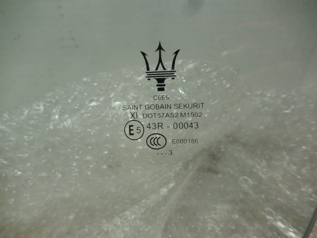 Maserati Quattroporte NEW OEM 2014 - 15 Front Driver's Door Glass # 670008388