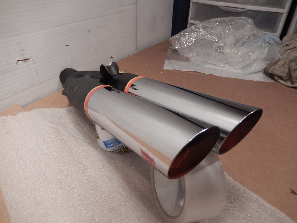 ANSA OEM NOS Twin Slant Cut Exhaust Tip