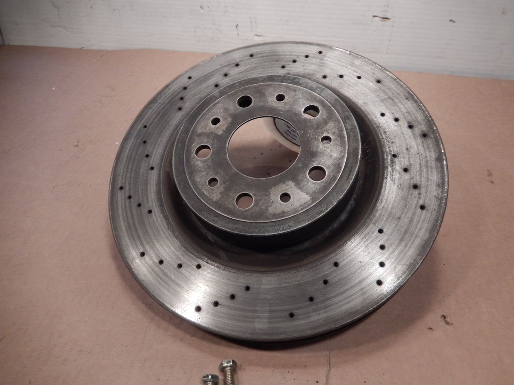 Maserati Quattroporte Front Drivers Side Drilled Brake Rotor