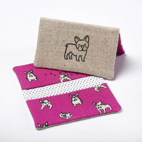 French Bulldog Business Card Case