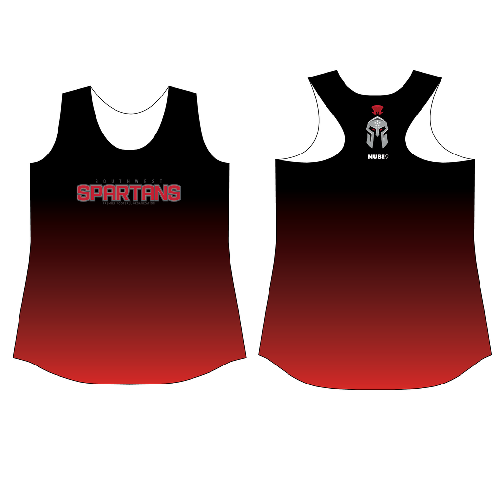 SW Spartans Fan Gear Racerback Tank