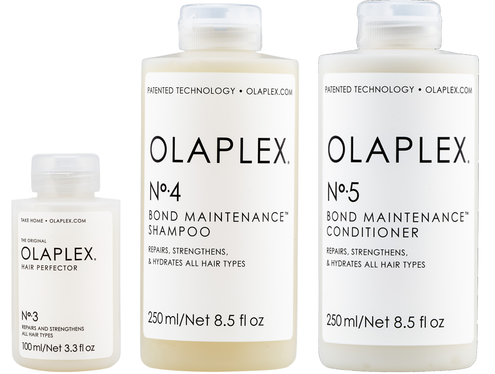 Olaplex Shampoo, Conditioner and Treatment Pack