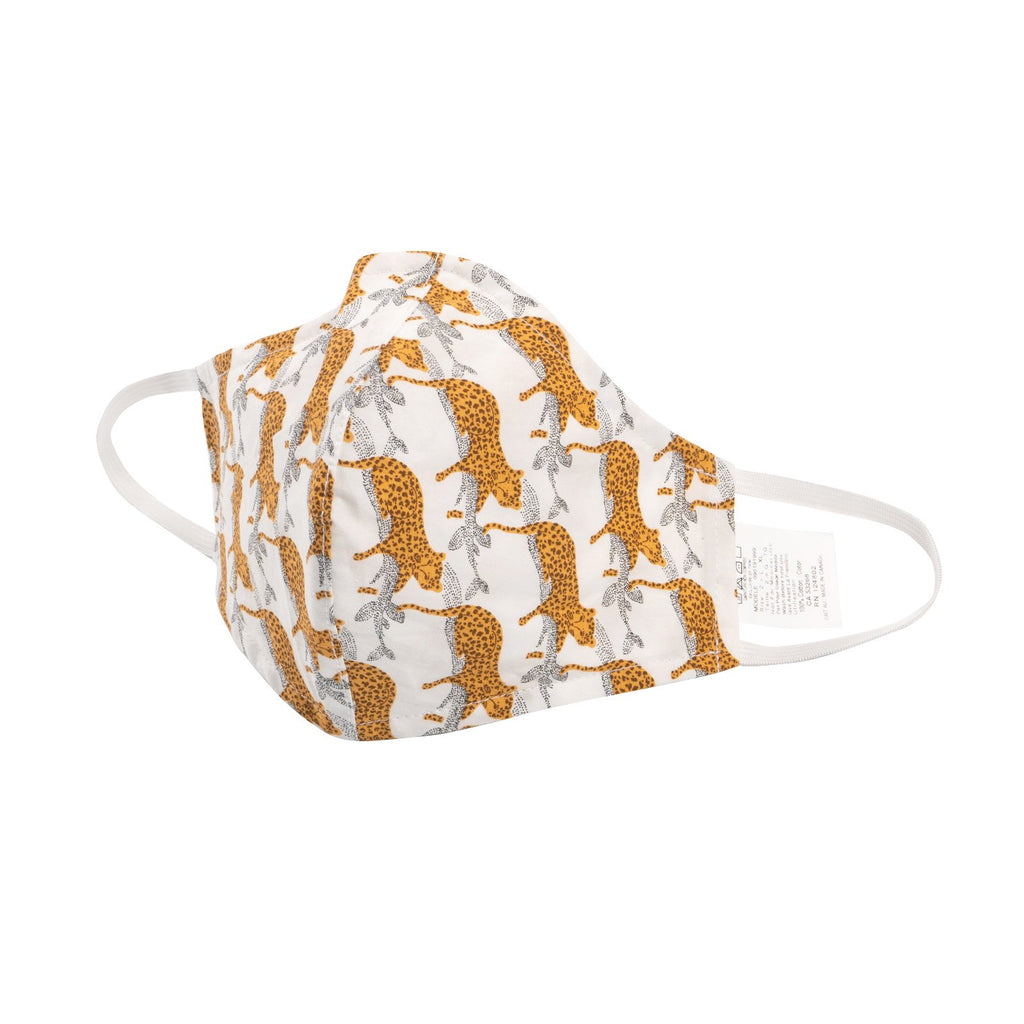 Adult Protective Face Mask - Cheetah Print