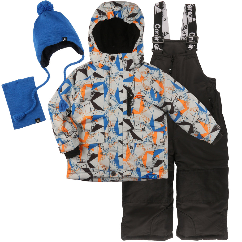 Infant & Toddler Boy's Snowsuit Set