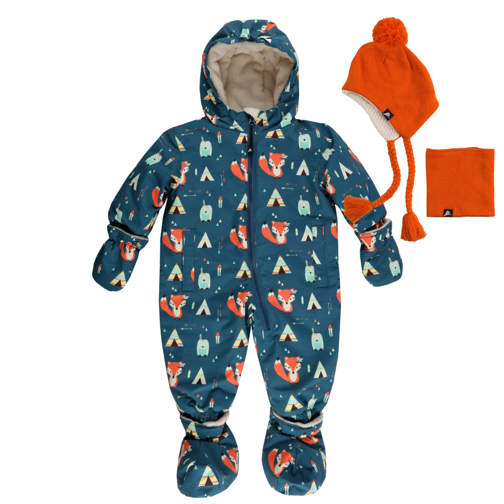 Infant 1-piece Snowsuit