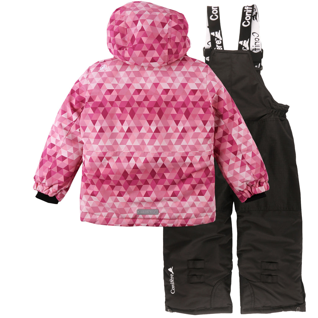 Toddler Girl's Snowsuit Set