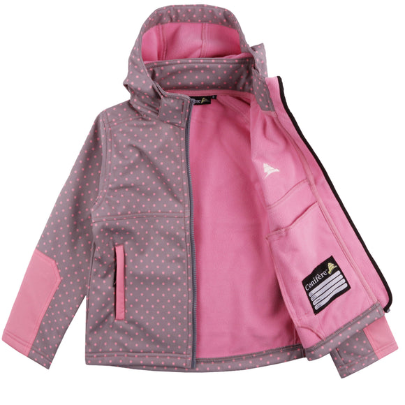 Toddler Girl's Soft Shell Jacket