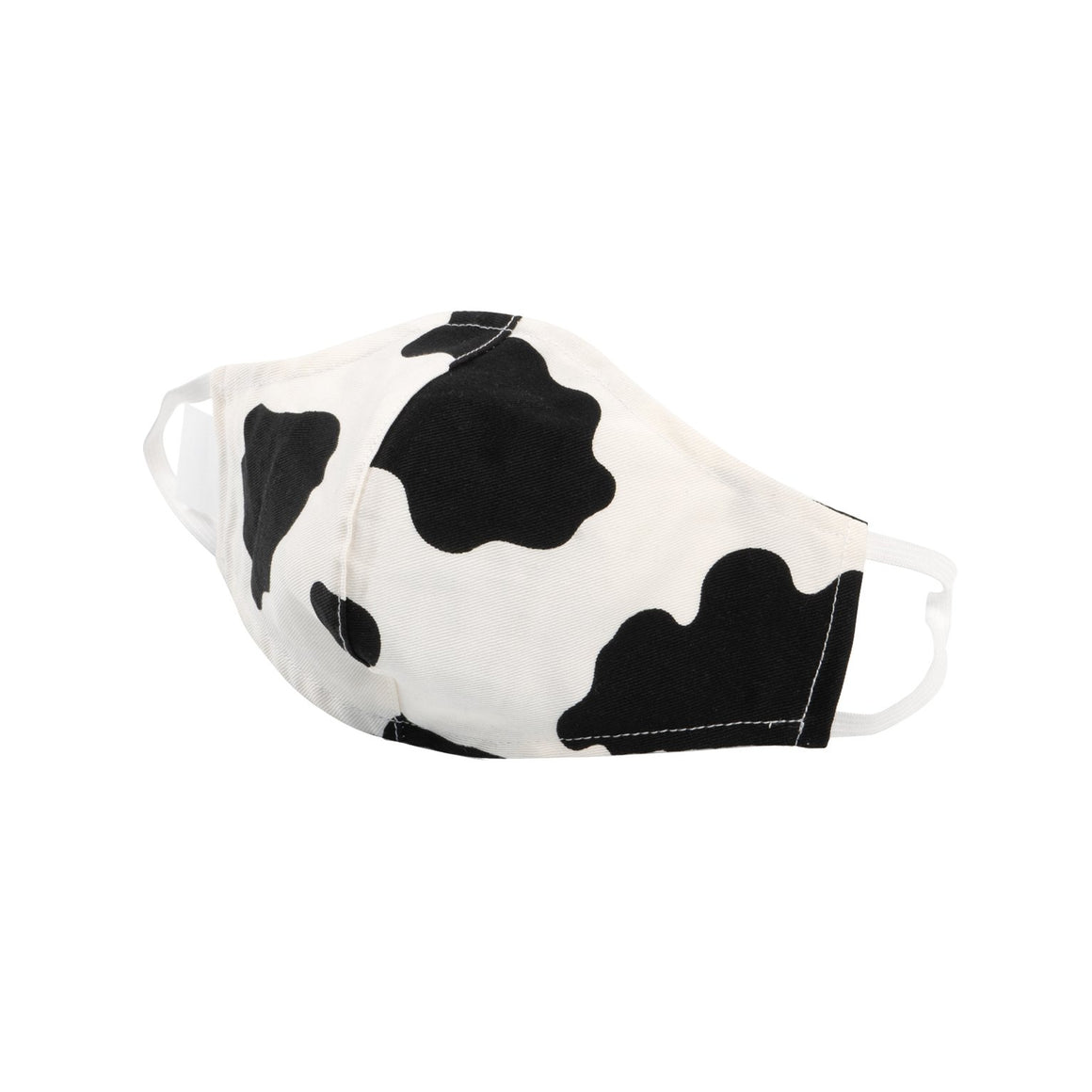 Adult Protective Face Mask - Cow Print Twill