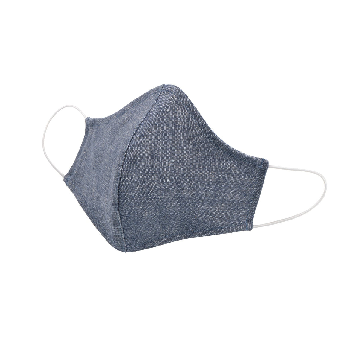 Adult Protective Face Mask - Cotton Chambray