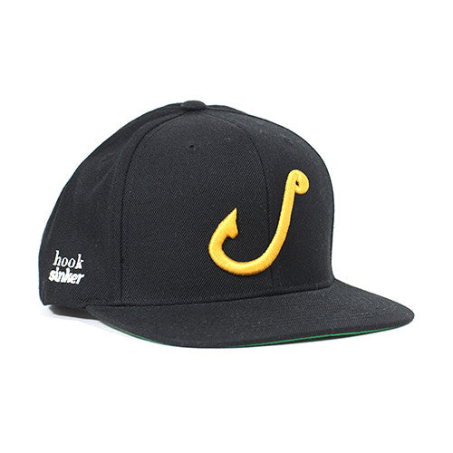 Hook Sinker - 'The Wing Man' Black Hat
