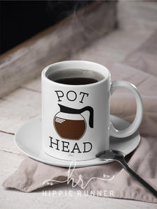 Pot Head (Coffee) Mug