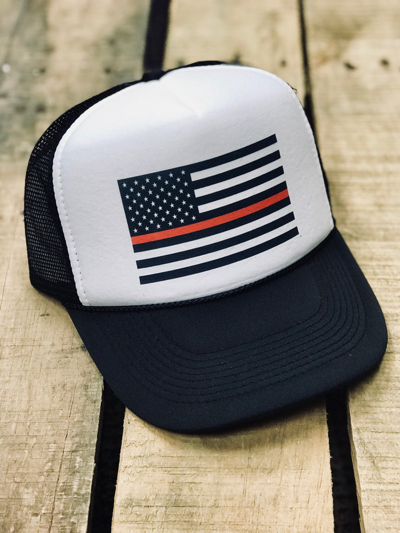 Thin Red Line (Hat)