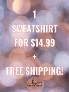 $14.99 Mystery Sweatshirt and FREE PRIORITY SHIPPING!