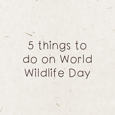 5 things to do on World Wildlife Day