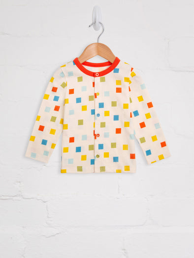 Pixel Madness Cardigan - cool baby clothes by lucy & sam