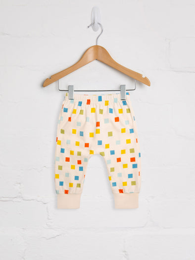 Pixel Harem Jogger - cool baby clothes by lucy & sam