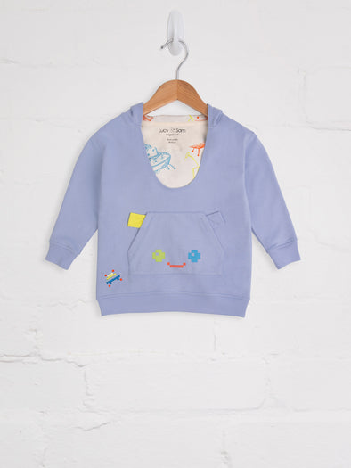 Pixel Madness Oversized Hugee - cool baby clothes by lucy & sam