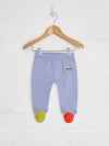 Blue Mauve Pixel Leggings - cool baby clothes by lucy & sam