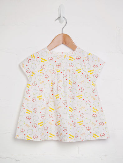 Summer Love Woven Top - cool baby clothes by lucy & sam