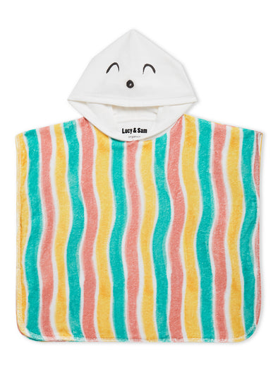 Lucy & Sam stripe baby and kids beach towel