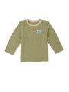 2 Pack Leopard Khaki and Stone T-Shirts - cool baby clothes by lucy & sam