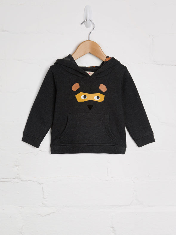 Bear Mask Hoody - cool baby clothes by lucy & sam