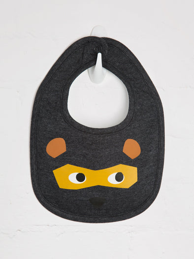 Bear Mask Bib - cool baby clothes by lucy & sam