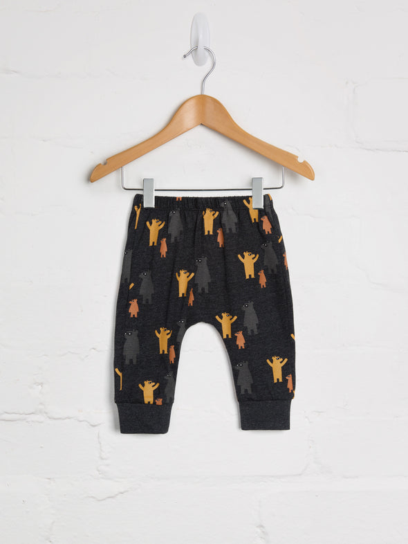 Where's Bear Harem Joggers - cool baby clothes by lucy & sam