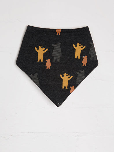 Where's Bear Bandana Bib - cool baby clothes by lucy & sam