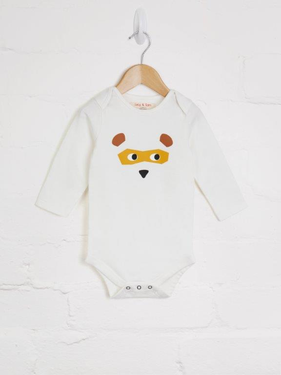 2 Pack Bear Bodies - cool baby clothes by lucy & sam