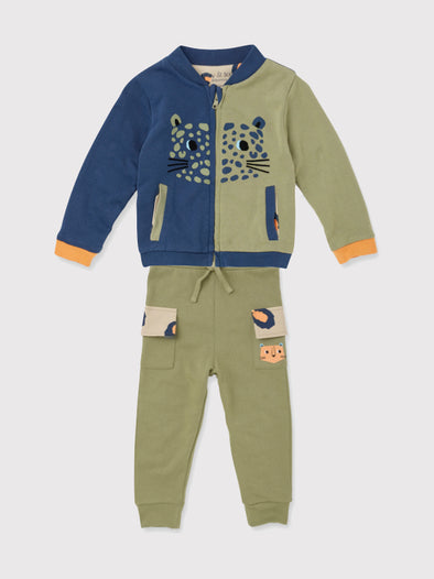 Bomber Jacket and Cargo Pants Gift Set - cool baby clothes by lucy & sam