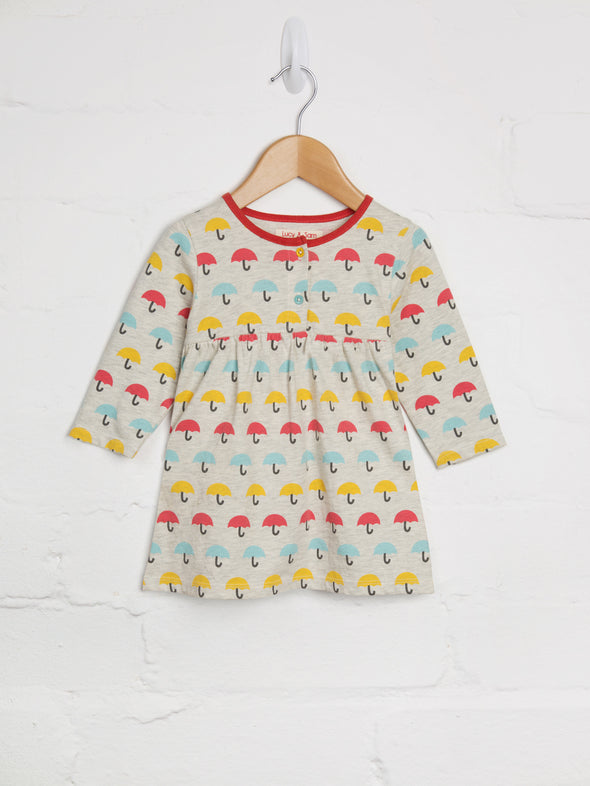 Brolly Print Dress - cool baby clothes by lucy & sam