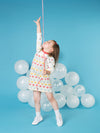 Brolly Dungaree Dress - cool baby clothes by lucy & sam