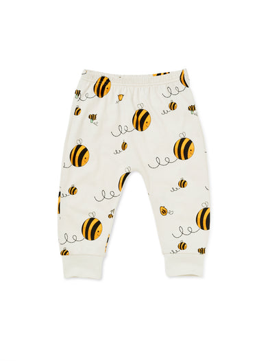 Bee Kind Harem Jogger - cool baby clothes by lucy & sam