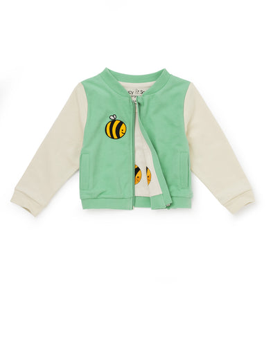 Bee Green Varsity Jacket