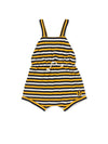 Striped Bee Jumpsuit - cool baby clothes by lucy & sam