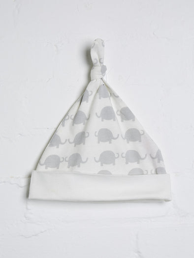 Elephant Knotted Hat - cool baby clothes by lucy & sam