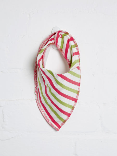 Girls Stripe Bib