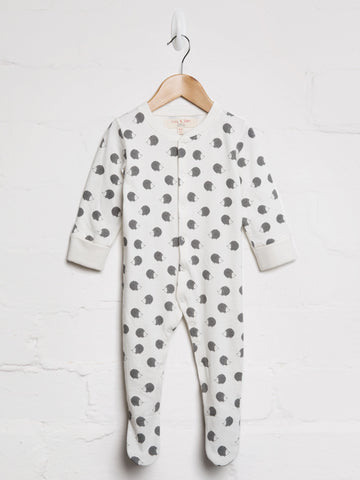 Unisex Hedgehog Babygrow - cool baby clothes by lucy & sam