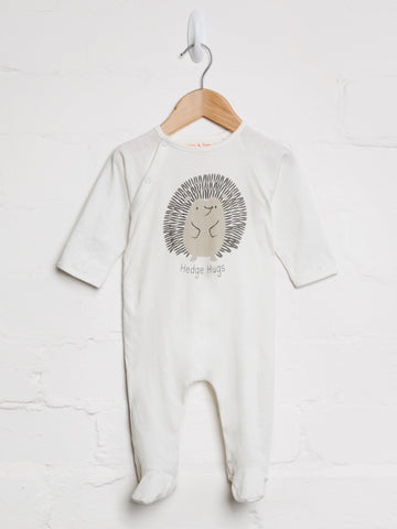 Unisex Hedge Hugs Babygrow - cool baby clothes by lucy & sam