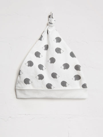 Unisex Hedgehog Knotted Hat - cool baby clothes by lucy & sam