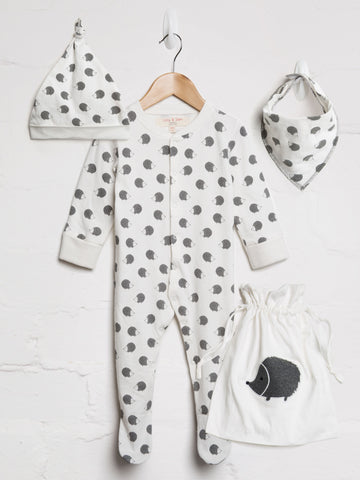 Unisex Hedgehog Baby Bundle - cool baby clothes by lucy & sam