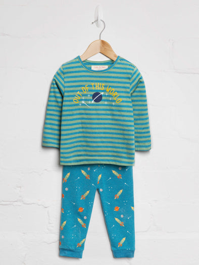 Out of This World PJ Set - cool baby clothes by lucy & sam