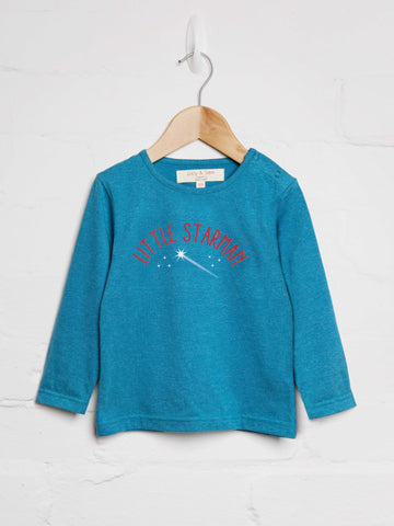 Little Star Man Tee - cool baby clothes by lucy & sam