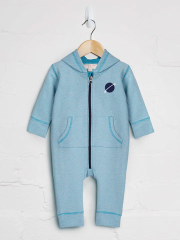 Loopback Hooded Romper