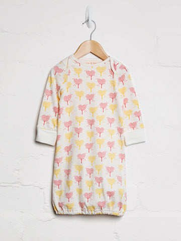 Heart Tree Sleepgown - cool baby clothes by lucy & sam