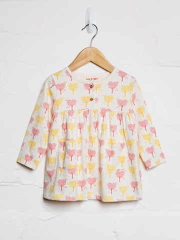 Heart Tree Jersey Dress - cool baby clothes by lucy & sam