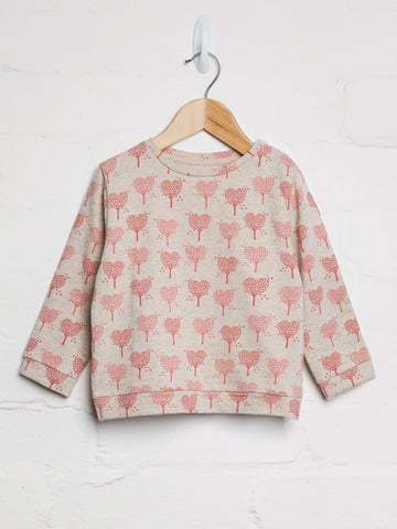 Heart Tree Sweatshirt - cool baby clothes by lucy & sam