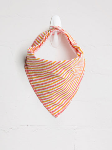 Autumn Stripe Bib - cool baby clothes by lucy & sam